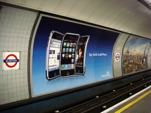 Apple iPhone UK Billboard Ad